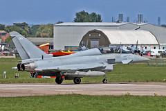 ZK381 EF-2000 Typhoon T3 Royal Air Force EGXC 16-05-19 (PlanecrazyUK) Tags: rafconingsby egxc qcy zk381 ef2000 typhoon t3 royal air force 160519 ef2000typhoont3 royalairforce