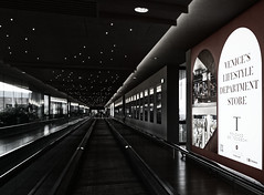 Stars in the Airport (Franco-Iannello) Tags: blackwhite blackandwhite streetphotography architecture