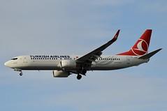 TC-JVC (LIAM J McMANUS - Manchester Airport Photostream) Tags: tcjvc tk thy turkish turkhavayollari turkishairlines thyturkish sahinbey boeing b737 b738 738 b73h 73h boeing737 boeing737800 man manchester egcc