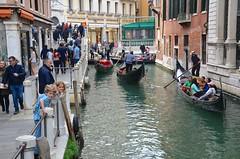 The Kids On Rio Orseolo (Joe Shlabotnik) Tags: venice italy canal 2019 april2019 venezia italia everett violet gondola afsdxvrzoomnikkor18105mmf3556ged