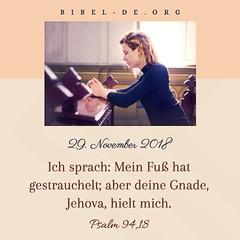 Psalm94.18-ZB-min (wyjzwcl) Tags: bibel gott jesus daslicht derwelt deslebens gebet bibellesen moses geschichte gnade retter