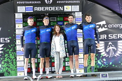 Tour Series Aberdeen 2019 on the podium (12) (Royan@Flickr) Tags: tour series aberdeen 2019 podium bicycle race scotland uk cycling lycra shorts teams sport ovo energy