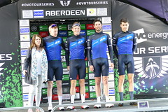 Tour Series Aberdeen 2019 on the podium (11) (Royan@Flickr) Tags: tour series aberdeen 2019 podium bicycle race scotland uk cycling lycra shorts teams sport ovo energy