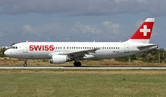HB-IJQ LMML 13-05-2019 Swiss Airbus A320-214 CN 701 (Burmarrad (Mark) Camenzuli Thank you for the 18.9) Tags: hbijq lmml 13052019 swiss airbus a320214 cn 701