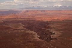 buck canyon overlook in canyonlands (ohikura) Tags: buckcanyonoverlook canyonlandsnationalpark lasalmountains moab utah