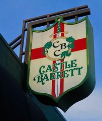 Castle Barrett, Omaha, NE (Robby Virus) Tags: omaha nebraska ne castle barrett english sign signage reception rental hall event center