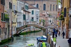 Rio de Santa Caterina (Joe Shlabotnik) Tags: venice italy canal 2019 april2019 venezia italia bridge afsdxvrzoomnikkor18105mmf3556ged