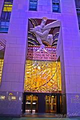 Comcast Building Entrance Sculpture Rockefeller Center & Plaza Manhattan New York City NY P00197 DSC_4134 (incognito7nyc) Tags: newyork newyorkcity nyc ny manhattan midtown midtownmanhattan rockefellercenter topoftherock rockefeller city golden logo art artdeco sculpture incognito7dcv incognito7nyc nyny cityofdreams nyccityofdreams cityofdreamsnyc empirestate empirestateofmind nycstateofmind newyorkstateofmind nikon dslr d3100 nikond3100 newyorklife newyorkdream newyorkdreams comcast comcastbuilding building skyscraper rockefellerplaza loveny ilovenewyork ilovenewyorkcity ilovenyc lovenyc