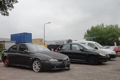 Alfa Romeo 156 1.8 TS 30-10-2003 19-NK-JK (Fuego 81) Tags: alfa romeo 156 2003 19nkjk onk sidecode6 peugeot 206 citroën berlingo
