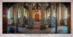Papplewick Pumping Station : Super-Panorama (setsuyostar) Tags: papplewickpumpingstation superpanorama djiosmomobileii samsunggalaxys7 phonepics spring2019 may2019 topazstudio kenhawley