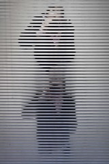 Décorporation (Gerard Hermand) Tags: 1903197559 gerardhermand france paris canon eos5dmarkii reflection autoportrait me moi selfportrait reflet reflexion metal ondule corrugated obe