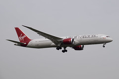 Virgin Atlantic B789, G-VSPY, LHR (LLBG Spotter) Tags: lhr b787 aircraft egll virginatlantic gvspy airline