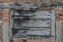 Old Wooden Hatch, Charlecote Park (Peter Cook UK) Tags: hatch national wooden patina warwickshire park charlecote trust elizabethan