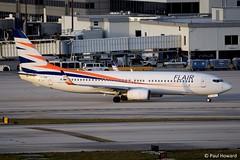2019-02-16 MIA OK-TSR (Paul-H100) Tags: 20190216 mia oktsr boeing 737 b737 flair smartwings
