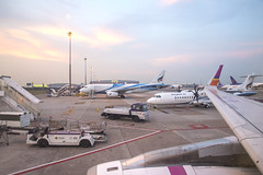 DSC_9846 (Kan_Rattaphol) Tags: aircraft airplane airbus a320 airlines a320232 thaismile we hstxs bkk suvarnabhumiairport