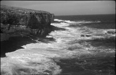 Atlantic (Mark Dries) Tags: markguitarphoto markdries royer 6x9 foldingcamera folder angenieux triplet 105mm fomapan 100iso negativescan orkney scotland atlanticocean