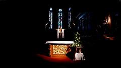 20190427 Elsass Haguenau Sankt Nikolauskirche Altar (20) (j.ardin) Tags: frankreich france francia elsass alsace hagenau haguenau sanktnikolauskirche saintnicolas kirche church iglesia église chiesa церковь kościół altar autel altare ołtarz