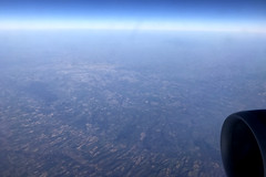 Over France, February 21st 2019 (Southsea_Matt) Tags: ggatk britishairways ba2633 airbus a320232 iphone7 february 2019 winter aviation windowseat windowview france
