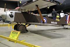 EASTCHURCH KITTEN REPLICA KITTEN N540 (toowoomba surfer) Tags: aviation aircraft aeroplane museum airmuseum aviationmuseum