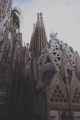 Gloomy Church (gabyuchi1) Tags: gloom gloomy mood moody church spain barcelona landscape color colorful desaturated architecture art