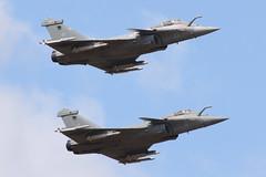 French Navy Rafale M Pair (nickchalloner) Tags: 23 6 dassault rafale m french navy france marine raf fairford royal air force ffd egva international tattoo riat