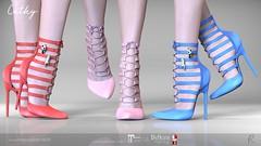 Remezzo Cathy Heels Fat Pack (Remezzo - jiiim luik) Tags: remezzo treschic newrelease exclusive shoes heels straps customizablehud highquality pumps