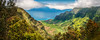 Kalalau Valley, Kauai, Hawaii (EdBob) Tags: kauai kalalau lookout view viewpoint valley panorama panoramic hawaii nature outdoors colorful travel day clouds sky edmundlowephotography edmundlowe edlowe allmyphotographsare©copyrightedandallrightsreservednoneofthesephotosmaybereproducedandorusedinanyformofpublicationprintortheinternetwithoutmywrittenpermission america usa tropical ocean sea pacific tropics