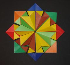 SORIA STAR (Estrella Soria) (mganans) Tags: origami star modular