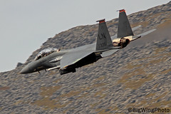 F15 Strike Eagle 6 (BigWingPhoto) Tags: united states air force usaf mcdonnell douglas f15 lakenheath 48th wing 494th squadron fighter jet fast military aviation lfa7 nwmta wales snowdonia mountain llyn ogwen valley a5 pass uk low level flying photos canon 7d 300f4l 14x