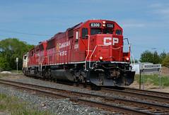 CP 6306- Coming into Rosemount (Khang Lu) Tags: cp canadian pacific emd sd603 soo albert lea up union mn minnesota rosemount northfield job train locomotive signal sign switch 6306