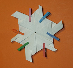 10-Himalayan summit molecule (mganans) Tags: origami tessellation