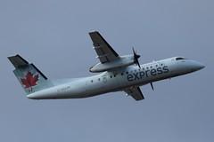 C-GUON (LAXSPOTTER97) Tags: air canada express de havilland cguon dhc8 q300 cn 143 aviation airport airplane cyvr