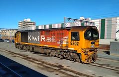 DL 9302 (steamfan1211) Tags: kiwirail trains railroad dl locomotive