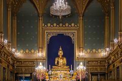 Phra Buddha Angkiros in Phra Ubosot, Wat Ratchabophit (aey.somsawat) Tags: architecture bangkok buddhastatue buddhisttemple temple thaiarchitecture thailand ubosot wat watratchabophit westernthaiarchitecture