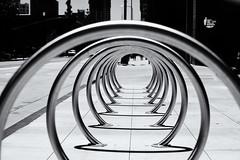 Rings (ROSS HONG KONG) Tags: downtown losangeles ring rings architecture streetphoto black white blackandwhite bw noir blanc monochome monochrom leica noctilux 50mm f095