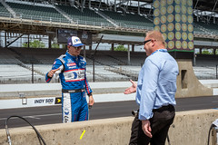 Driver, Graham Rahal Greets a Friend (janedsh) Tags: speedway handshake ims graham rahal indianapolis motor indy 500 track places indiana marioncounty this is photo by steve holmanphotoscom may grahamrahal indianapolismotorspeedway indy500 photobysteve thisisindy thisismay