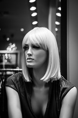 Confessions Of A Mannequin (DOKTOR WAUMIAU) Tags: berlin fuji fujifilm fujigear fujilove fujix fujixt20 lightroom xt20 xf35mmf2 xf35 blackandwhite blackandwhitephotography blackwhite monochrome streetphotography street