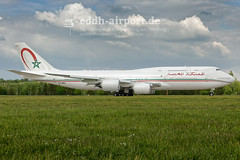 CN-MBH (timo.soyke) Tags: cnmbh boeing 747 b747 b7478 b7478bbj ham eddh hamburg hamburgairport plane flugzeug aircraft start takeoff