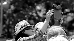 Camera (patrick_milan) Tags: woman camera tablette hat glass sunglass