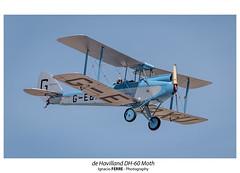 de Havilland DH-60 Moth (Ignacio Ferre) Tags: fio fundacióninfantedeorleans moth cuatrovientos lecu spotting aircraft aeronave airplane avión aviation aviación avioneta nikon madrid españa spain dehavillanddh60 dehavillanddh60moth dh60 airshow