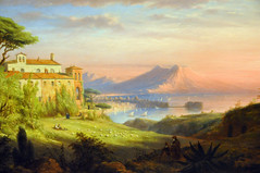 Robert Walter Weir - Bay of Naples at Boston Museum of Fine Art (karadogansabri) Tags: robert walter weir bay naples boston museum fine art gallery ma massachusetts us painting american landscape mfaboston mfa museumuseum museo musée musee muzeum museu müze m