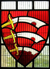 Essex Coat of Arms (oddbodd13) Tags: coatofarms essex stainedglass scimitar