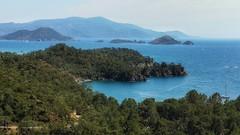 Mugla viewpoint (leewoods106) Tags: turkey mugla daidala göcek viewpoint islands green blue mediterranean mediterraneansea sea