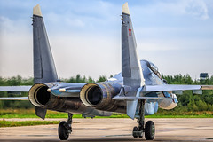 Su-30SM (RealHokum) Tags: airshow aircraft airplane aviasalon aviation army2017 kubinka ef200400 sukhoi su30sm fighter flanker russianairforce russianarmy