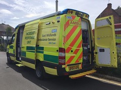 6364 - Notts - 23.06.18 - 36002947(2) (Call the Cops 999) Tags: uk gb united kingdom great britain england 999 112 emergency service services vehicle vehicles ambulance