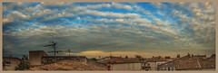 Panoramique jour Est 02 (15 images) vertical FR (Olpo2vin) Tags: birds oiseaux olpo ciel sky nuages clouds nubes nuvole wolken nuvens sunset panoramique redessan 30129 hirondelles toitsdeprovence paysage photomerge
