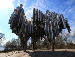 'Sibelius' (Timster1973 - thanks for the 16 million views!) Tags: sibelius monument sculpture park helsinki finland europe mirrorless canon colour color canonm3 canonmirrorless timknifton timster1973 blue sky 1122mm