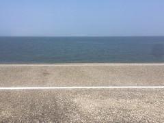 (joostmarkerink) Tags: dike skyline water sea