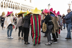 SON01199cropadj (Charlie Jobson) Tags: venice venezia carnevale people costume tourists