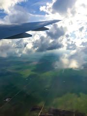 IMG_4117 (Aurmorea) Tags: flight wing sunset goldenhour boeing777 republicadominicana